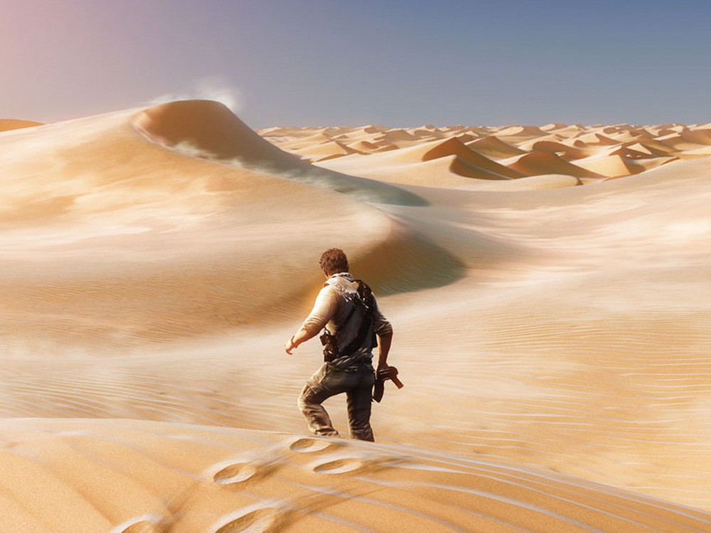 Each dune is different. Every urinal pee stain is, too.