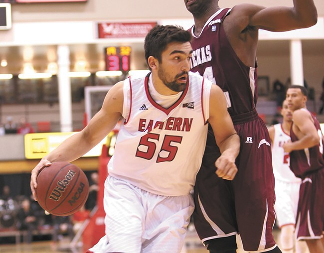 Eastern Washington forward Venky Jois. - EWU ATHLETICS