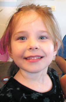 Elayna, age 5 - CHRIS BOVEY