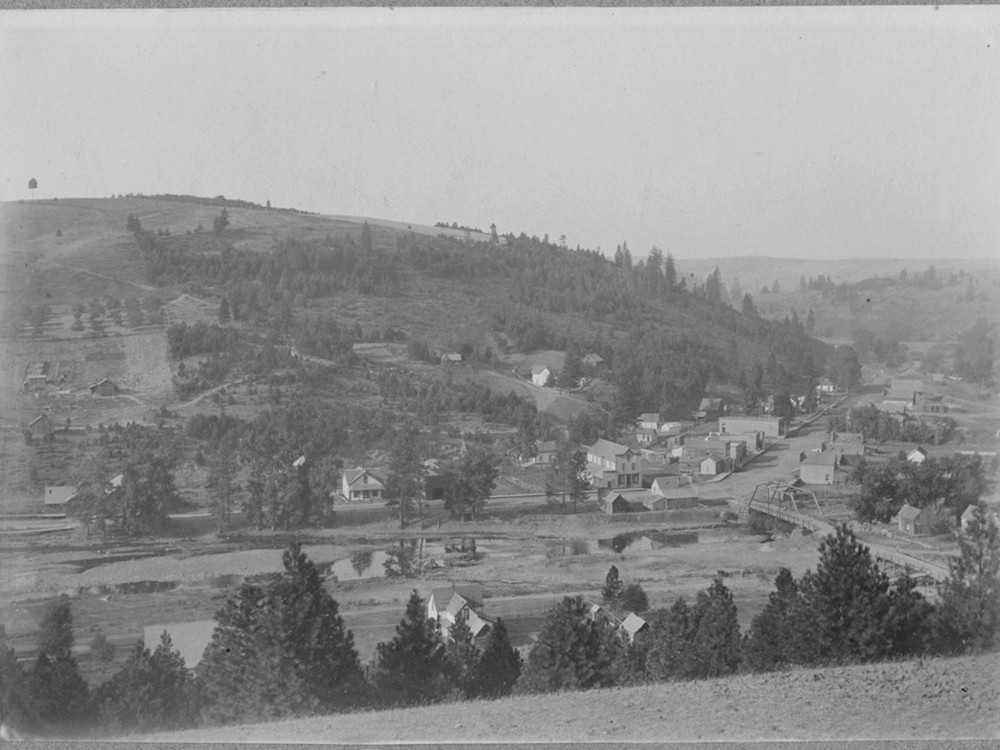 Elberton, circa 1904 - DIXIE ROACH AND THE WHITMAN COUNTY LIBRARY RURAL HERITAGE PROJECT