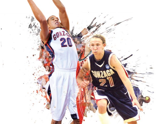 Elias Harris and Courtney Vandersloot