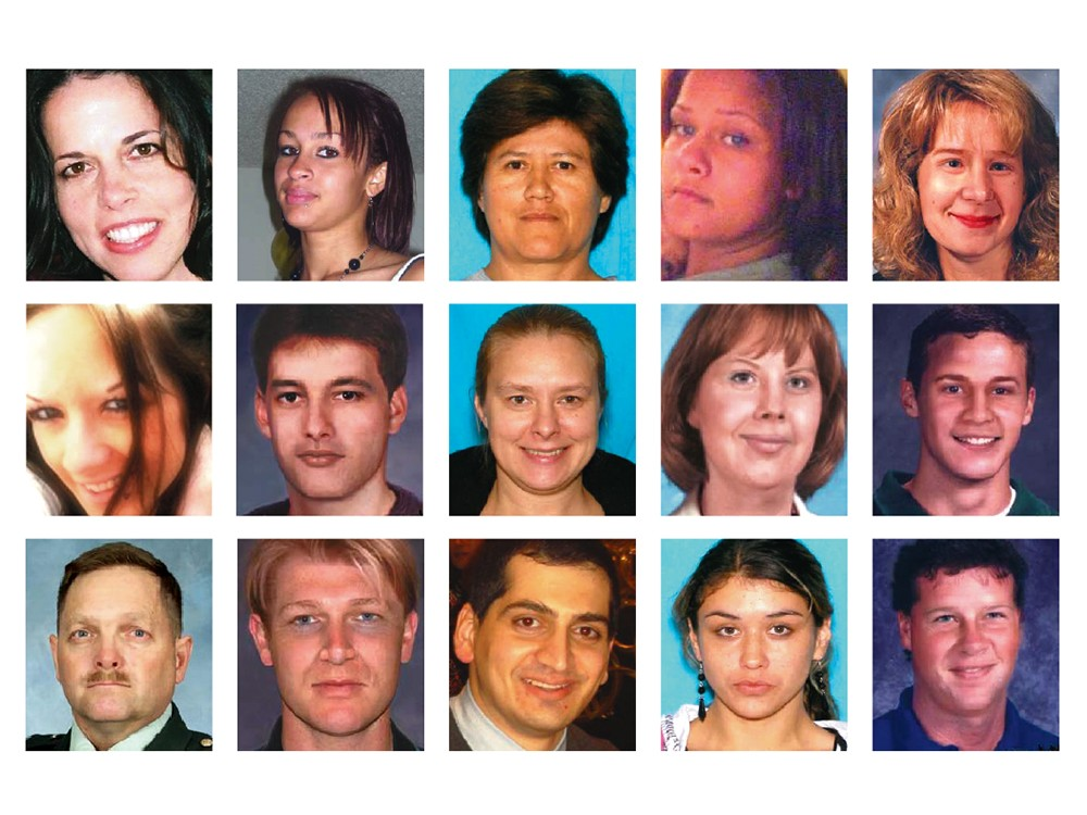 Faces of the missing from Washington State Patrol photos