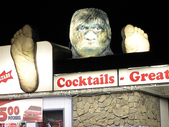 Find your inner sasquatch at the Bigfoot pub. - YOUNG KWAK