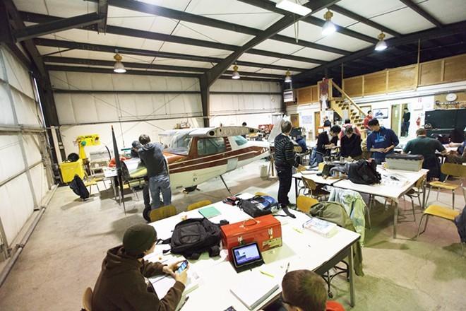 SCC Aviation Maintenance Training Program