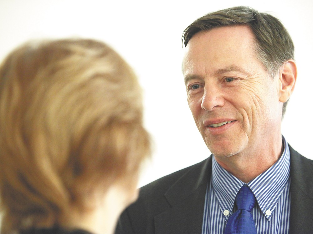 Fomer head of North by Northwest, Rich Cowan is challenging Cathy McMorris Rodgers. - YOUNG KWAK