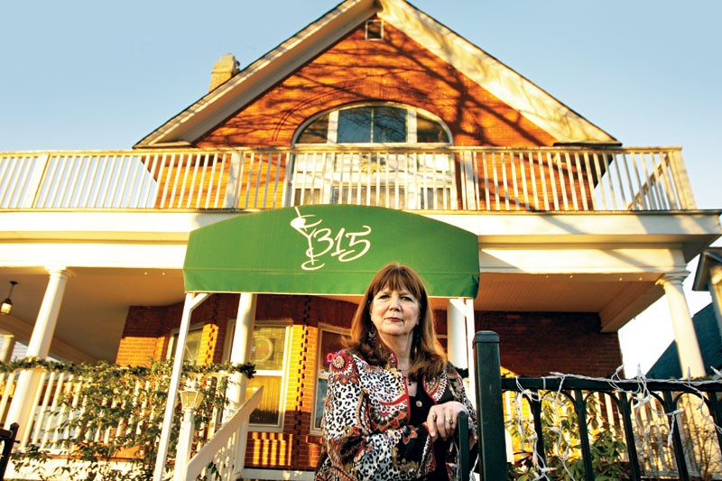 For more than 25 years now, Kris McIlvenna has been putting out fresh food for guests and diners at the Greenbriar Inn. - YOUNG KWAK