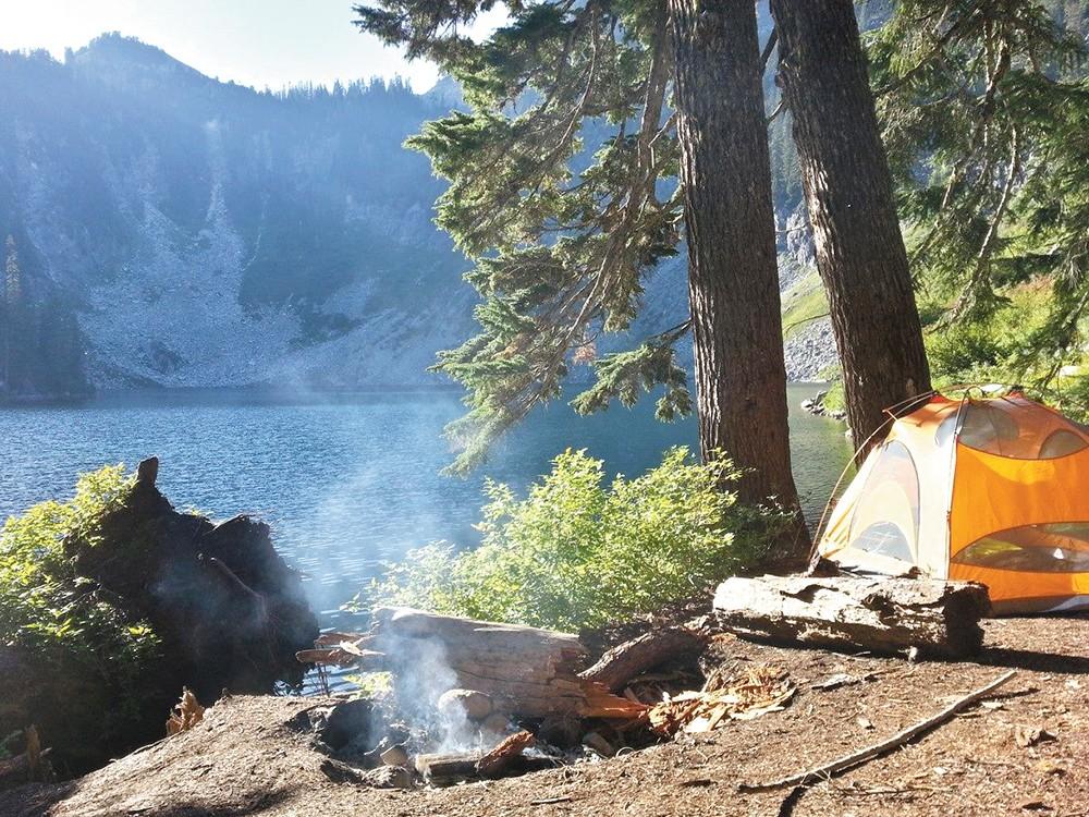 For those who make the climb, Alaska Mountain offers peace and beauty. - JACOB JONES