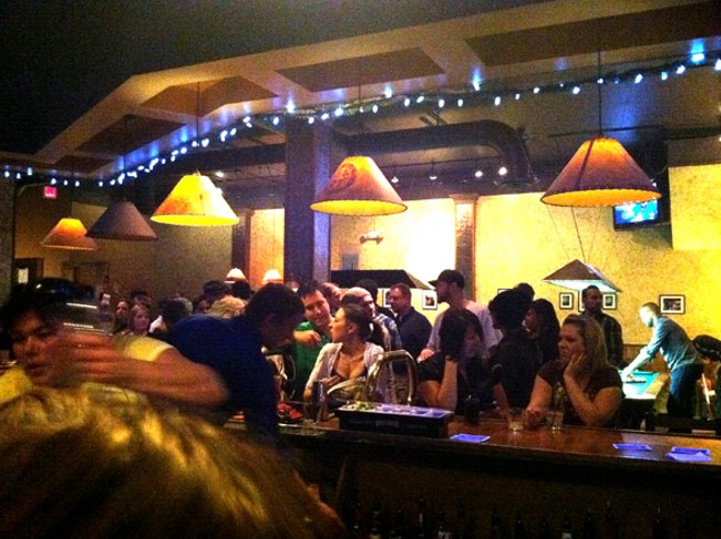 The last night at Far West Billiards.