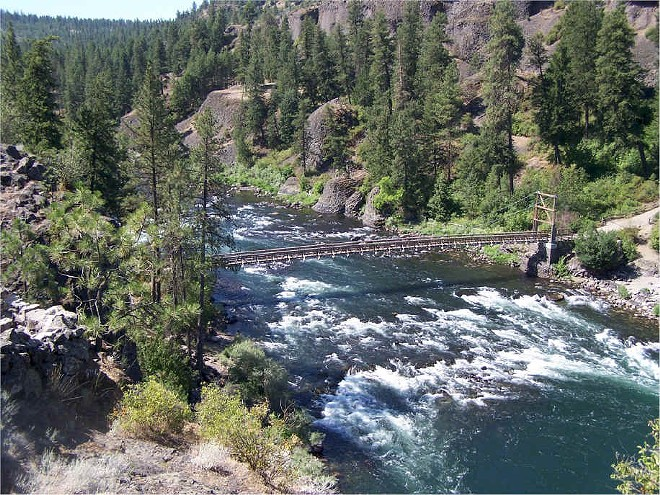 Riverside State Park in Spokane.