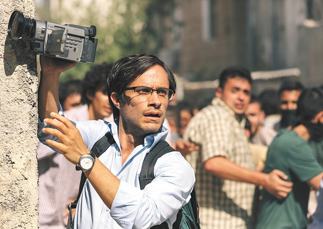 Gael García Bernal as journalist Maziar Bahari.