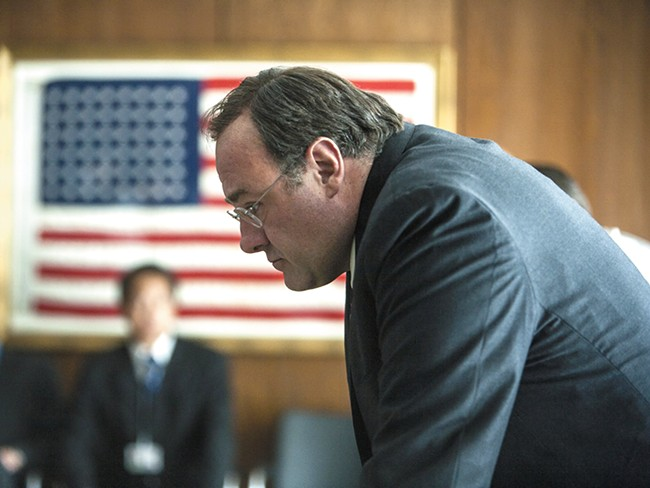 Gandolfini in Zero Dark Thirty.
