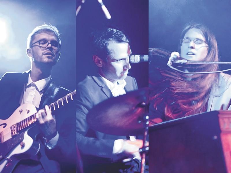 Garage Voice (L to R): Tommy Panigot, Patrick Toney, Bruce Pearson