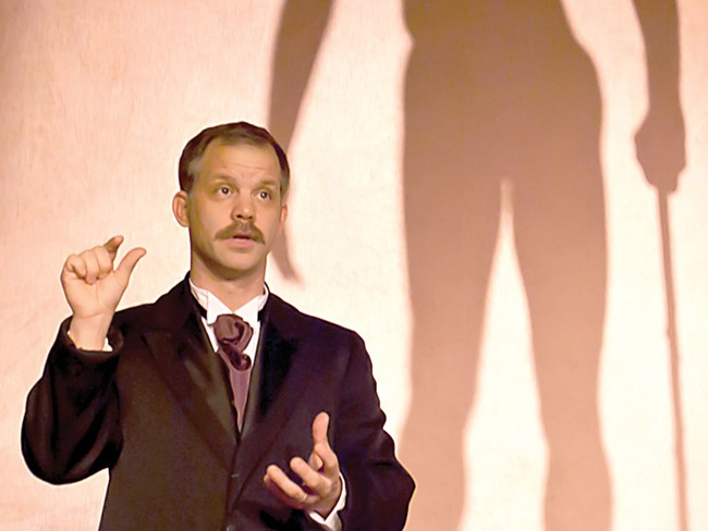 George Green as Dr. Treves - a different kind of disfigured - KYNDALL ELLIOT