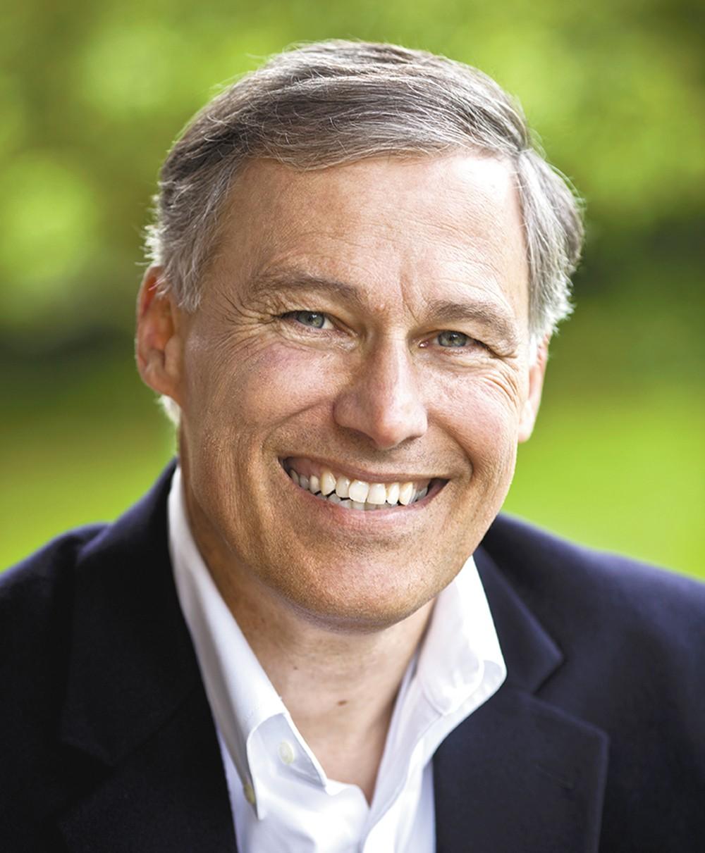 Gov. Jay Inslee was in Spokane last week talking about future transportation projects.