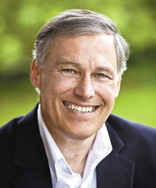 Gov. Jay Inslee was in Spokane last week talking about future transportation projects.