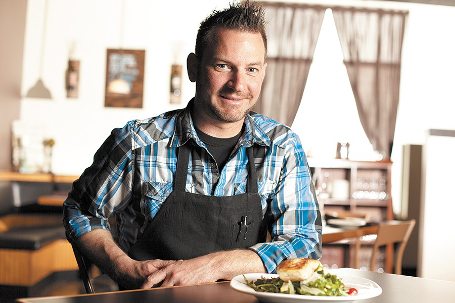 Hay J's Chef Patrick Fechser lets top-notch ingredients shine in his culinary creations. - YOUNG KWAK