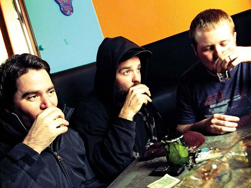 Hey is for Horses! (left to right): Damien Ramirez, John Blakesley and Doug Tobey - YOUNG KWAK
