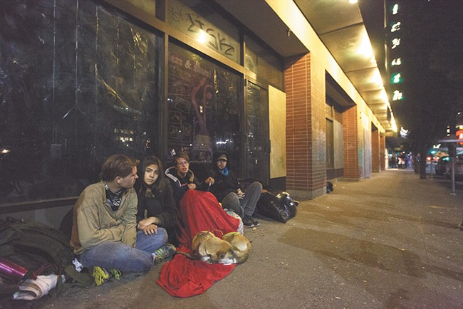 Hot topics in 2013: Homeless youth and downtown crime. - YOUNG KWAK