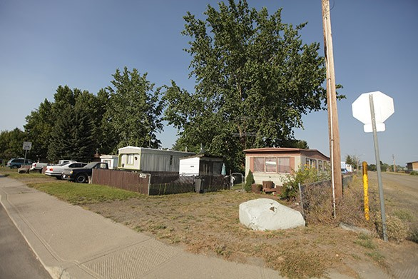 The Lawson Mobile Home Park is the subject of an Inlander story this week. - YOUNG KWAK