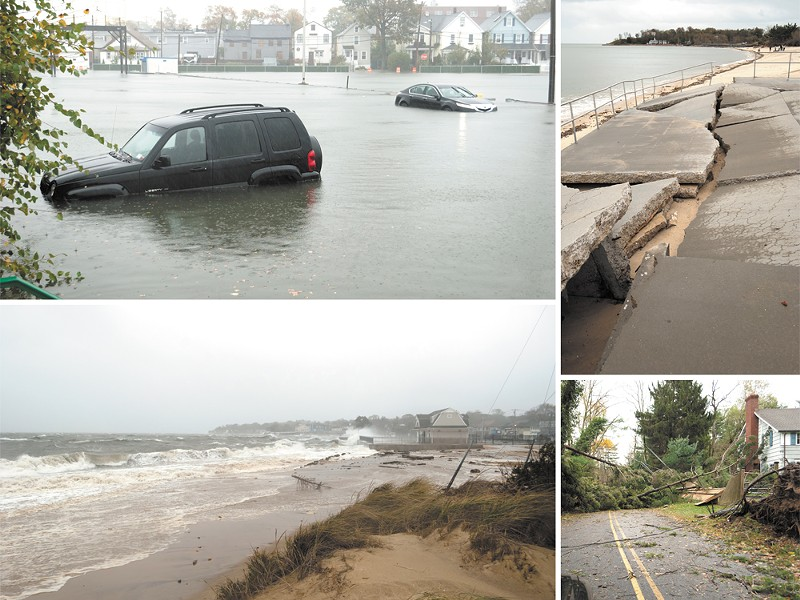 Hundreds of miles wide, Hurricane Sandy killed at least 113 people along the East Coast. - OLIVER RICH