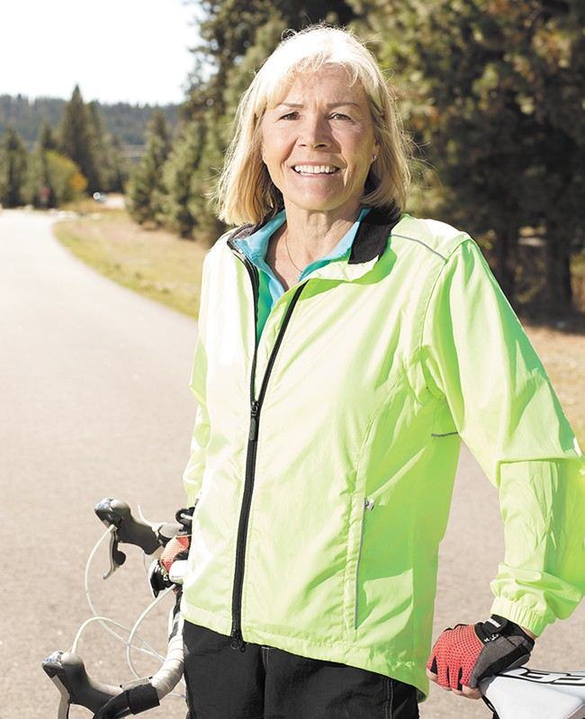 """I wasn't trying to look 30,"" says Marcia Kramer. ""I wanted to look brighter, healthier, and I think I do."" - YOUNG KWAK"