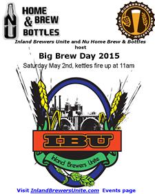 INLAND BREWERS UNITE - IBU Big Brew Day