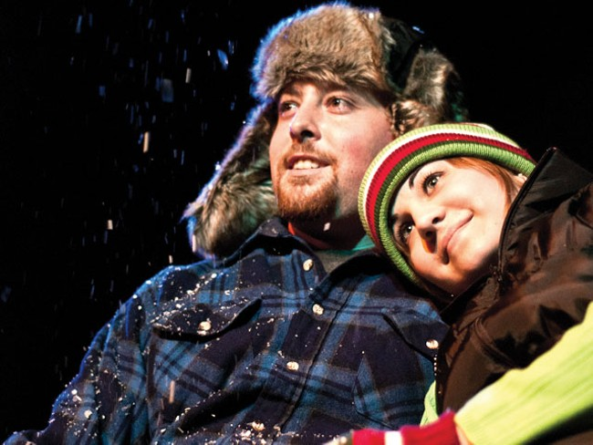 In Almost, Maine, lovers almost get close. - KYNDALL ELLIOT