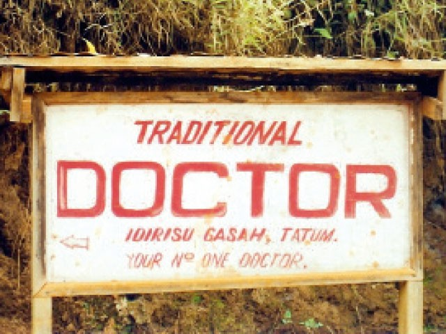 "In Cameroon, many have to rely on ""traditional"" doctors, who are not trained in modern medicine."