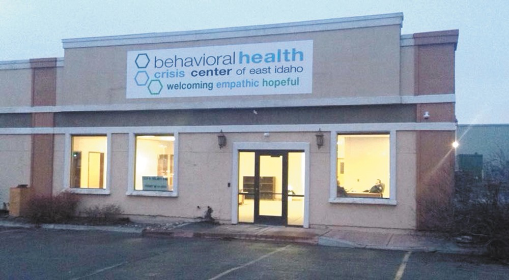 In one month, the crisis center in Idaho Falls has already treated more than 80 patients.