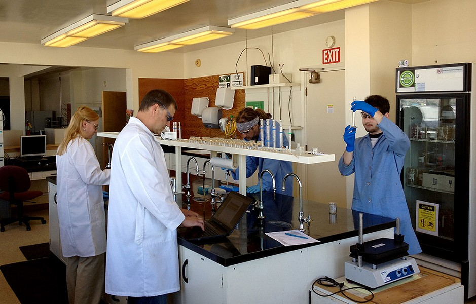 Inside Analytical 360, a lab that tests marijuana and marijuana-infused products. - ANALYTICAL 360