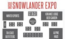 Inside the Snowlander Expo