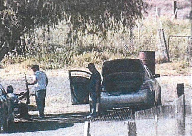 Investigators video-surveilled Leonel Vargas' home without a warrant for a month before capturing this image. - KENNEWICK POLICE DEPARTMENT