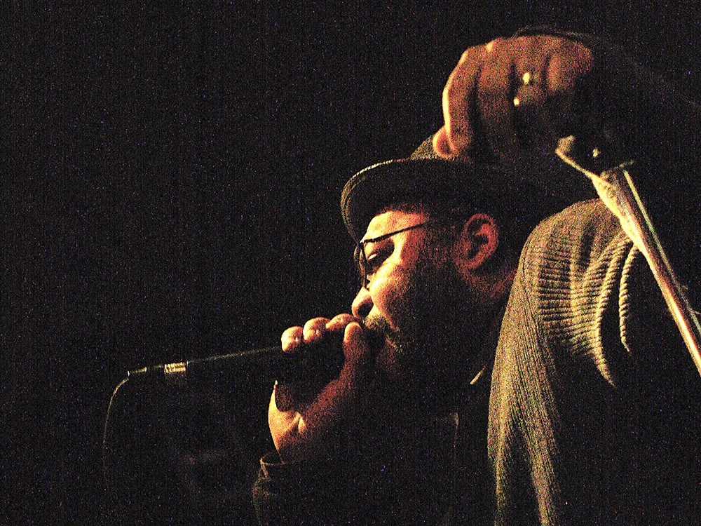 Isamu Jordan, performing in 2011. - YOUNG KWAK