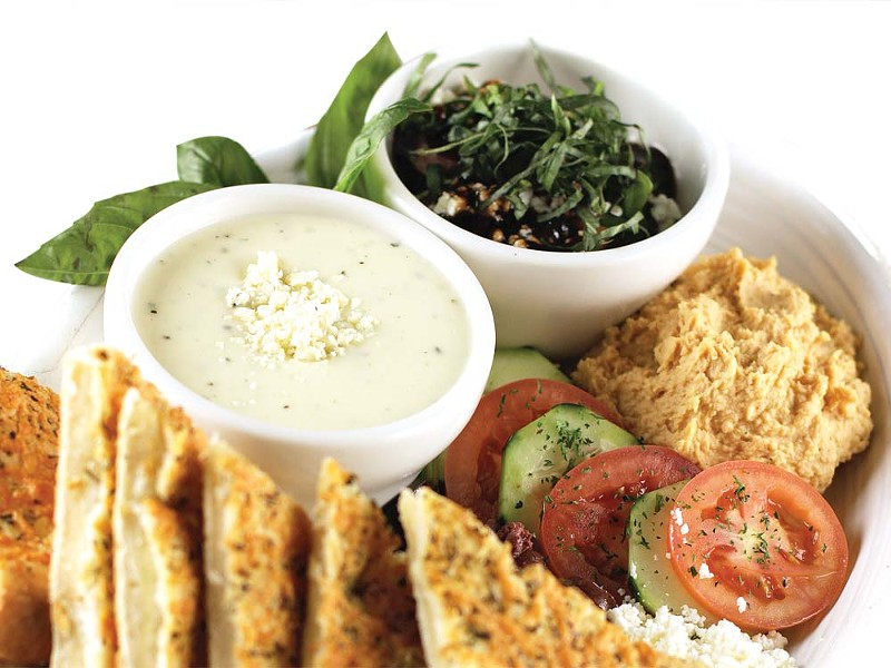 Italian with a Greek influence makes this appetizer sampler a classic - YOUNG KWAK