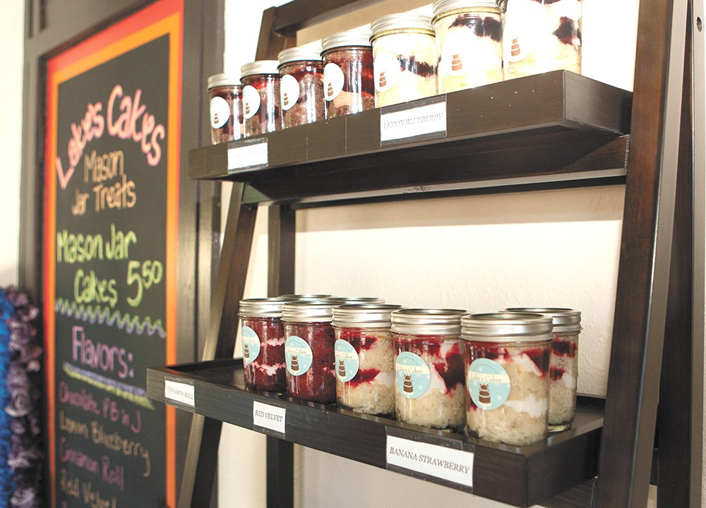 It's cake — but in a jar! - MEGHAN KIRK