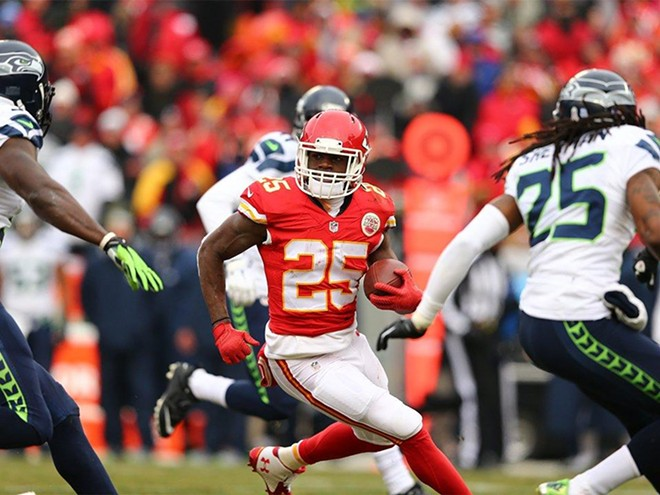 Jamaal Charles ran for 159 yards and two TDs. - KCCHIEFS.COM