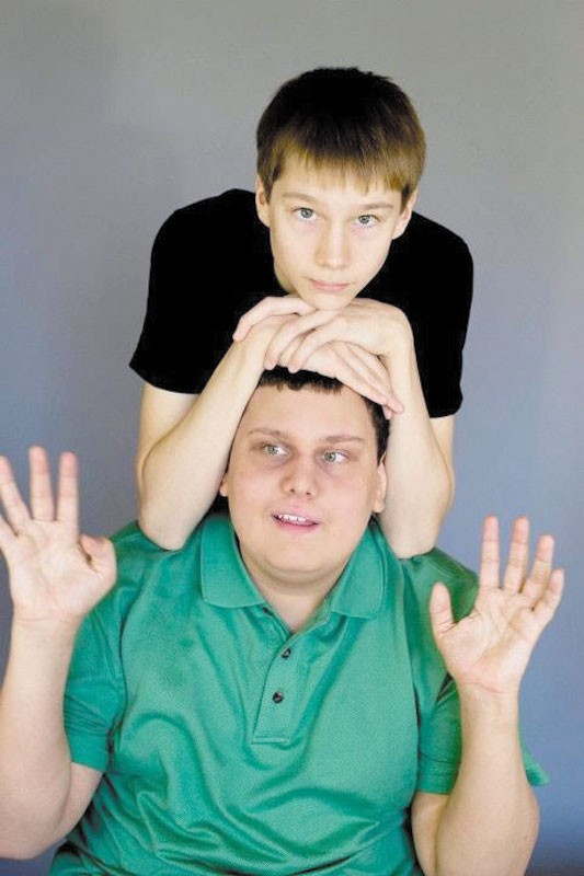 James Frye and his little brother Jon