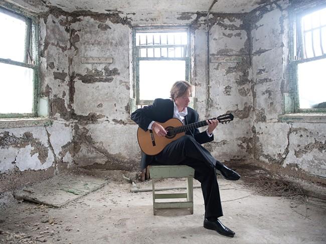 Jason Vieaux is appearing as a guest artist with the Spokane Symphony. - TYLER BOYE