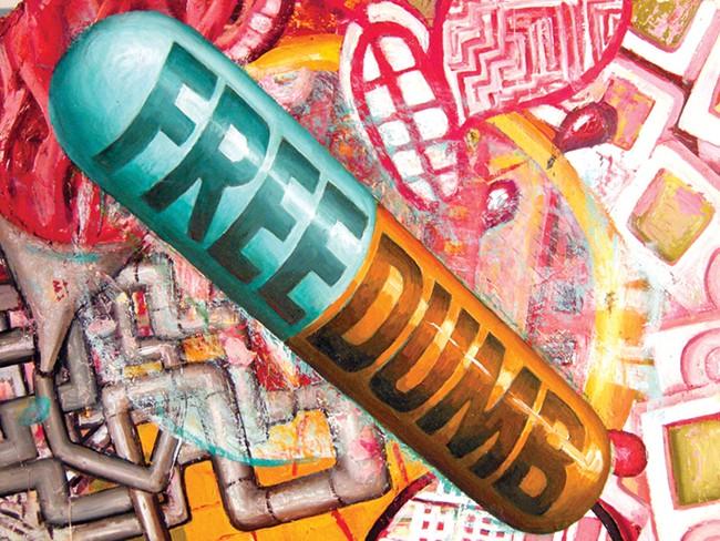 Jay Schmidt's 'FREEDUMB'