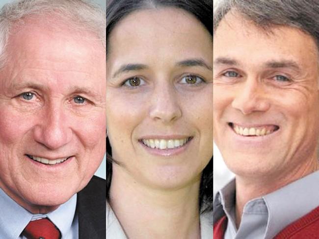 John Ahern, John Driscoll, Shelly O'Quinn