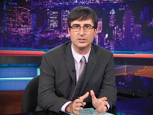 John Oliver: Delivering the fake news all summer