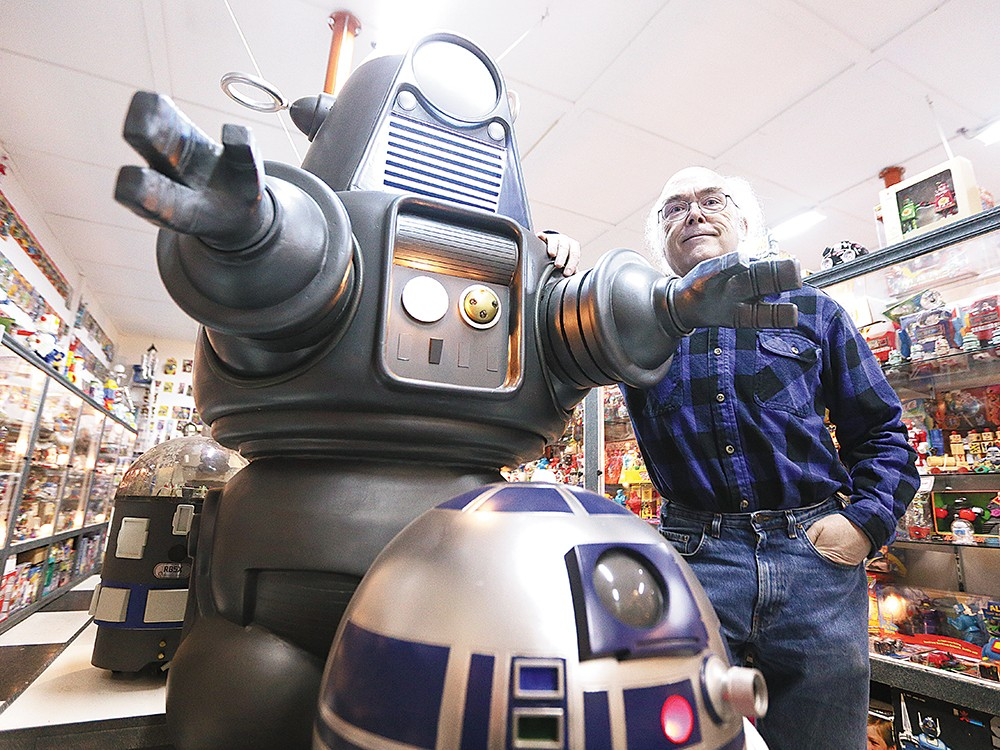 John Rigg has built a robot empire out in Elk, Wash. - YOUNG KWAK
