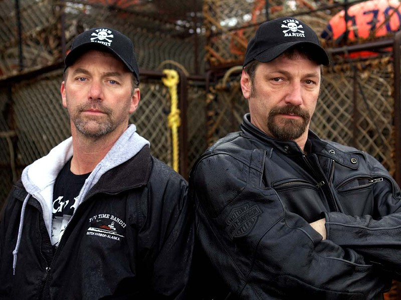 Johnathan and Andy Hillstrand of Deadliest Catch