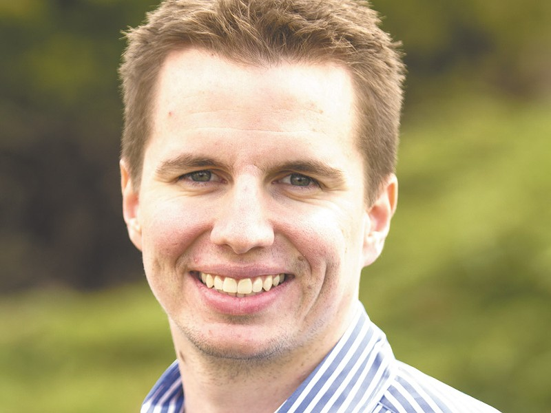 Josh Neblett started GreenCupboards.com after graduating from Gonzaga in 2008. - JEFF FERGUSON