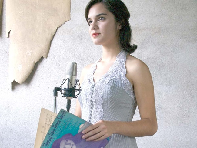 Julia Keefe will sing Mildred Bailey standards next Thursday at the Fox. - RICK SINGER