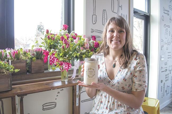 Karyna Hamilton, owner of Flora Yogurt Co. - SARAH WURTZ