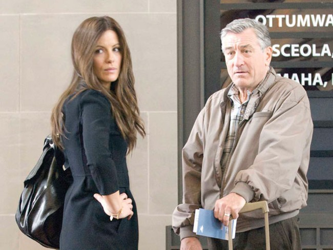 Kate Beckinsale and Robert Deniro