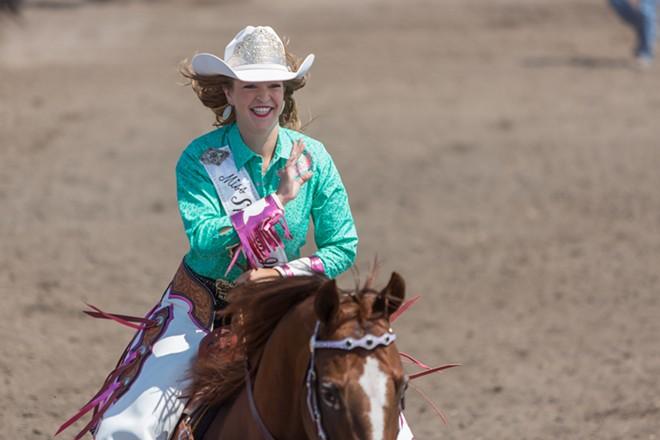Katherine Merck, Miss Spokane Interstate Rodeo - MATT WEIGAND