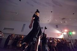 Kathleen Proud walks the runway. - YOUNG KWAK