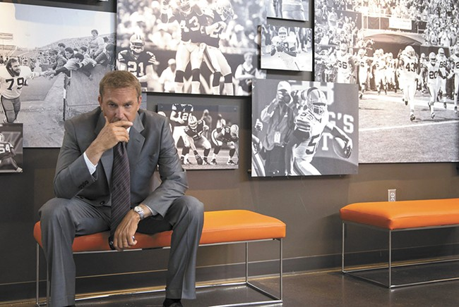 Kevin Costner: the king of the sports movie.
